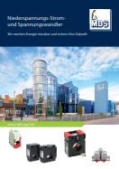 Katalog MBS Strom- und Spannungswandler